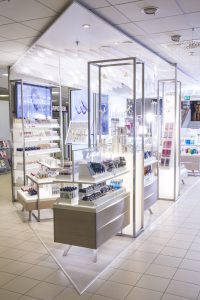 Lumene shop-in-shop Helsinki Stockmann